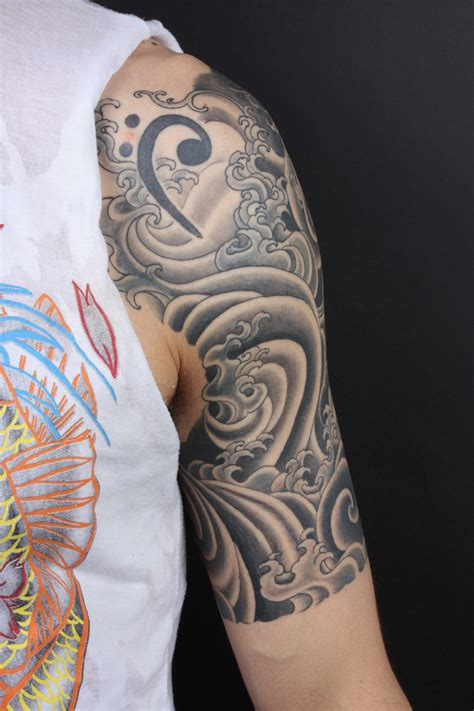 awesome half sleeve tattoos japanese images designs