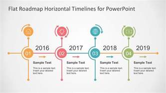 timeline powerpoint template flat timelines powerpoint templates
