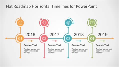 6 step process with hexagons for powerpoint