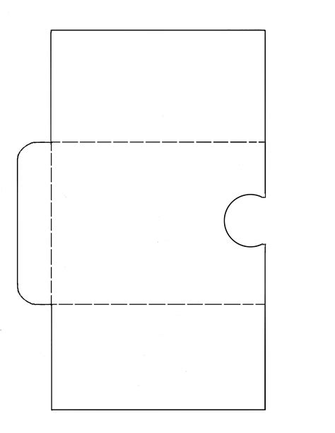 9 x 12 pocket folder template free svg file tag card with pockets