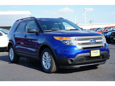 mitsubishi suv blue 2015 blue ford explorer valley classifieds suv