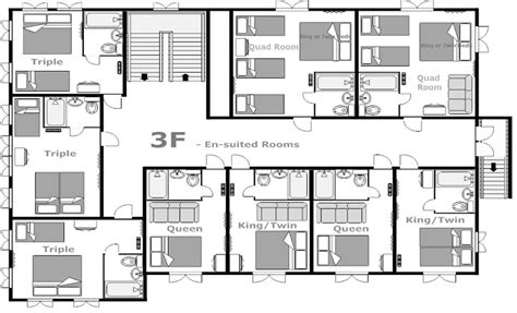 residence floor plans hakuba house floor plan 3f hakuba house