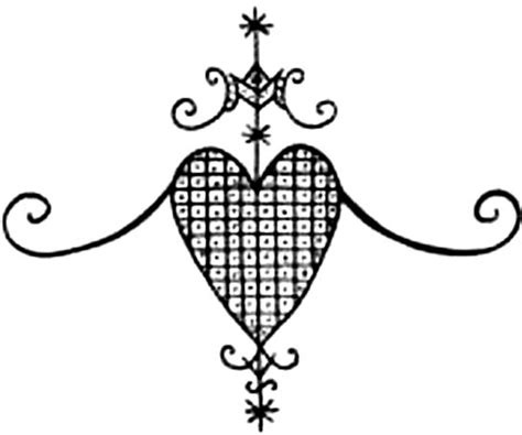 hatian voodoo veve symbols meaning veve
