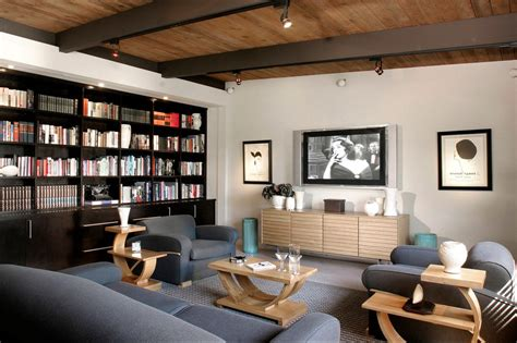 Modern Media Console With Who Dares Wins Bay Area Office Modern Office Furniture San Francisco