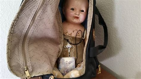 haunted doll harold i opened haunted harold s bag harold the haunted doll