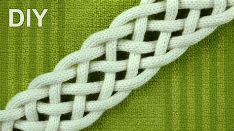 Macrame Braiding - how to braid with six strands simple friendship bracelet