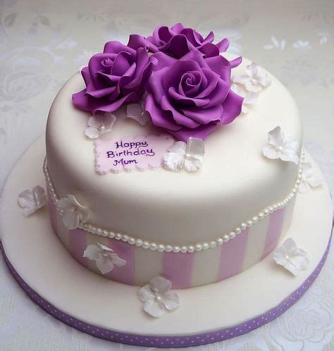 Image result for Pretty Birthday Cakes For Women   cakes   Pinterest   Pretty birthday cakes