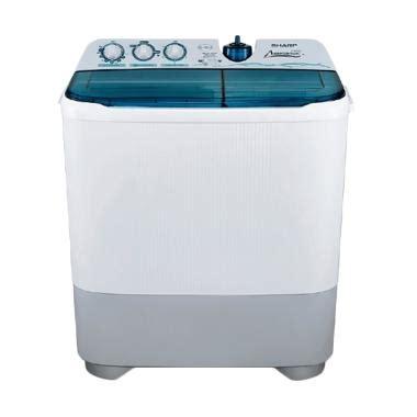 Mesin Cuci Sharp Est 85 Cl jual mesin cuci 2 tabung terbaik harga murah blibli