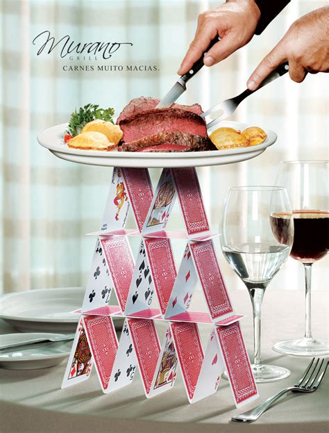 20 creative and eye catching restaurant ads clear designs