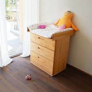 Mobile Baby Changing Table Solid Wood Baby Bed And Nappy Changing Table Team 7