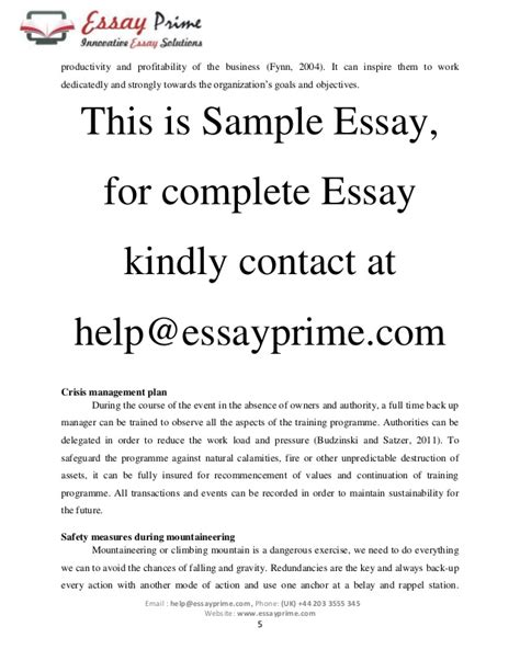 Essay On Adventure Sports by Essay On Adventure Sports