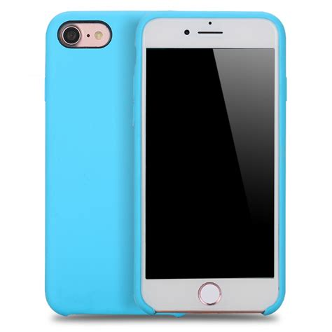 Iphone 8 Volcom Pink Hardcase wholesale iphone 8 plus 7 plus pro silicone sky blue