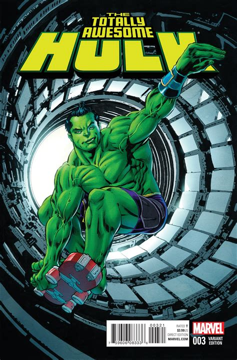 preview totally awesome hulk  comic vine