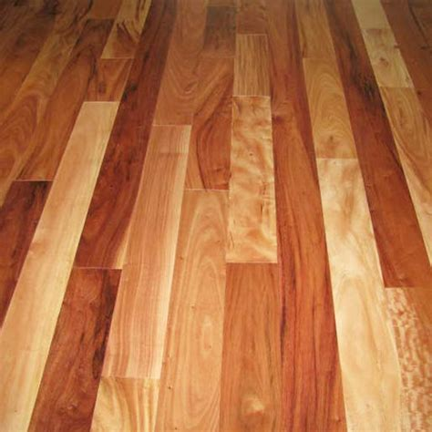 """Amendoim 3/4"""" x 5"""" x 1 7' Clear   Prefinished Flooring"""