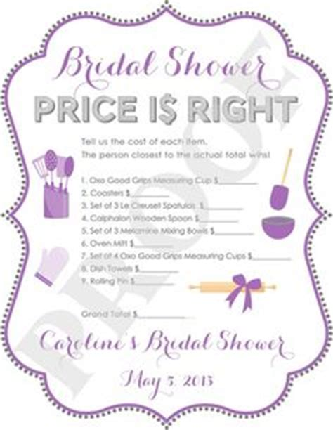 price is right bridal shower template bridal shower on bridal shower