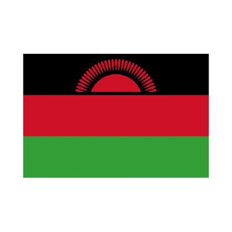 malawi 3x5 flag polyester flag with 2 grommets on the left side