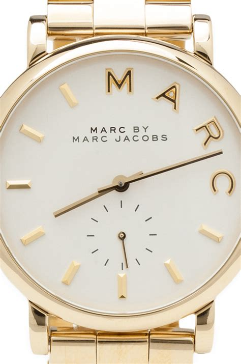 Marc Uhren by Marc By Marc Mbm3243 In Gold Revolve