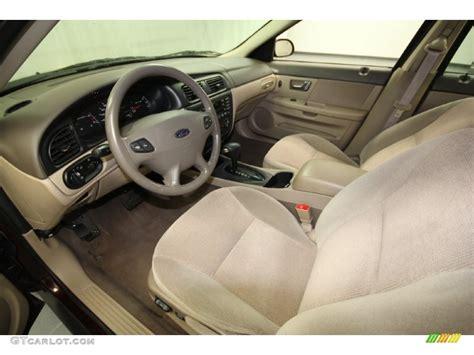 2001 Ford Taurus Interior by Medium Parchment Interior 2001 Ford Taurus Se Photo