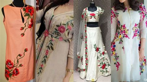 stylish designs simple embroidery patterns for kurti www pixshark com