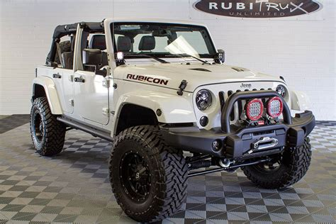 Jeep Hemi 2015 Hemi Jeep Wrangler Rubicon Unlimited White