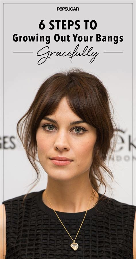 how to grow out your bangs hair world magazine 397 best hair images on pinterest