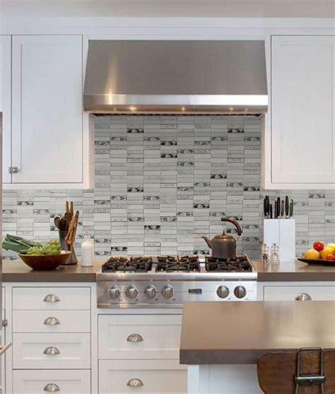 modern glass tile backsplash white modern glass marble metal backplash tile for