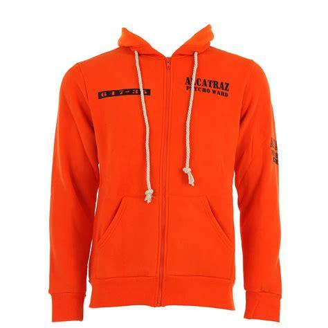 in hoodie banned alcatraz hoodie banned apparel orange hoodie mens uk