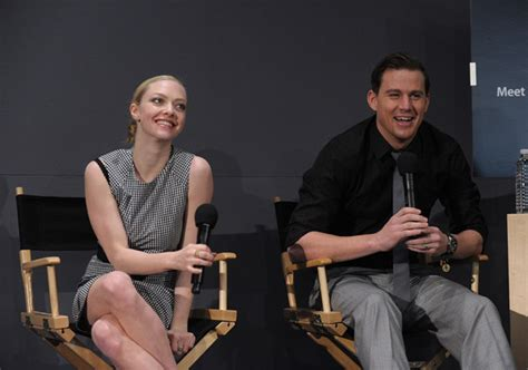 amanda seyfried official website channing tatum unwrapped official site and blog