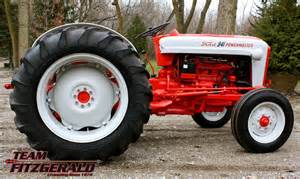 tractor story ford 841 powermaster antique tractor