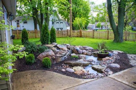aquascape outdoor aquascape your landscape how a pondless waterfall created