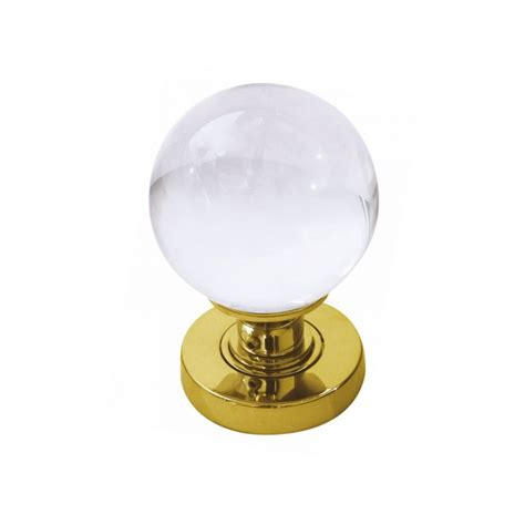 Clear Glass Door Knobs Frelan Jh5201pb Polished Brass Clear Glass Door Knobs Glass Door Knobs