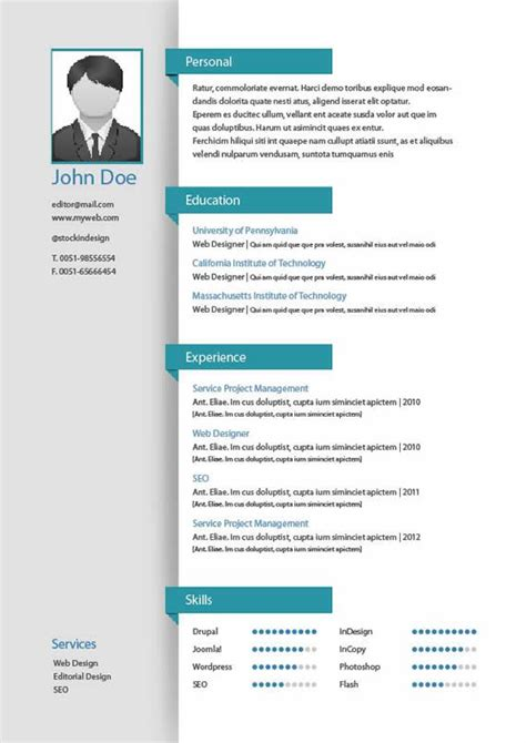 Plantillas De Curriculum Mac Best 25 Plantillas Para Curriculum Vitae Ideas On