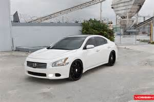 Nissan Maxima With Rims Vossen Wheels