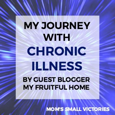 my journey with chronic illness by my fruitful home