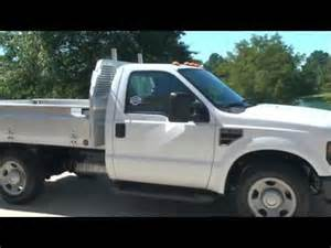 2008 ford f350 xl v8 work truck utility aluminum bed for