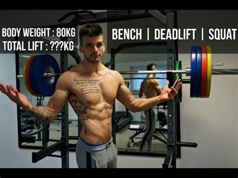rm bench press 1 rep max bench press deadlift squat strength on a