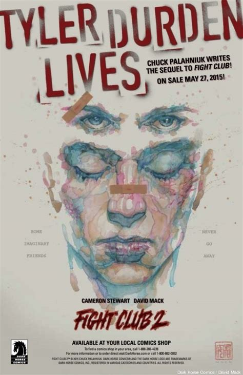 fight club 2 graphic novel fight club 2 is coming and it s a graphic novel ew