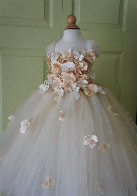 design your flower girl dress flower girl dress chagne dress chagne tutu dress flower