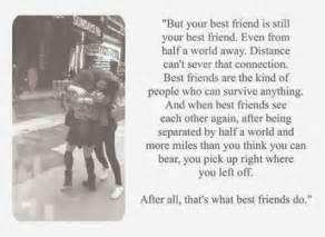 Break Letter Because Distance distance friendship quotes distance bestfriends bffs friends forever