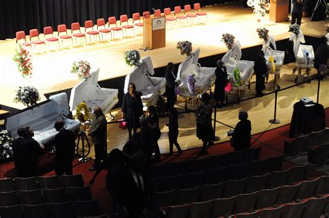 funeral held for family killed by carbon monoxide