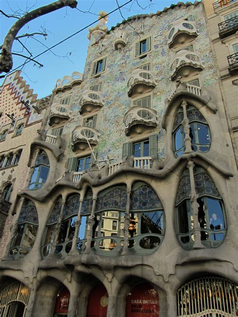 barcelona architecture barcelona antoni gaudi building the milan months