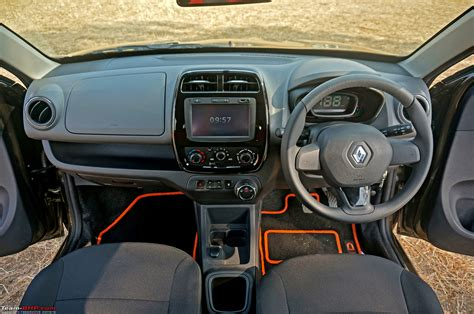 kwid renault interior renault kwid amt automatic official review team bhp