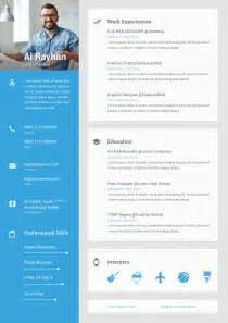 dribbble metarial design cv resume jpg by al rayhan