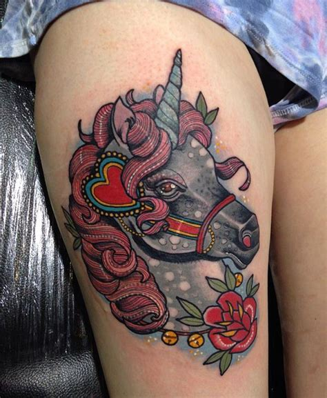 black and grey unicorn tattoo 75 unicorn tattoos that are the stuff of legend
