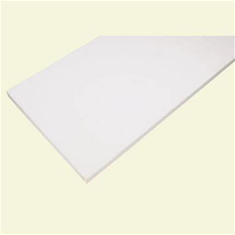 White Laminate Shelf by Rubbermaid 10 In X 36 In White Laminate Decorative Shelf