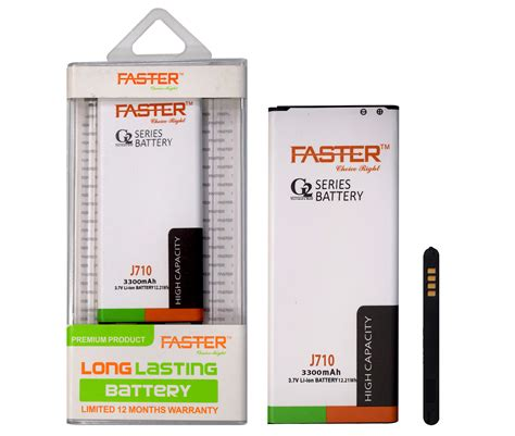 samsung battery 3300 mah samsung j710 3300 mah g2 series lasting battery faster pakistan