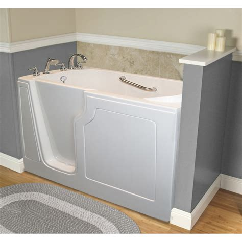 walk in bathtub with jets dignity 48 quot x 28 quot whirlpool jetted walk in bathtub wayfair