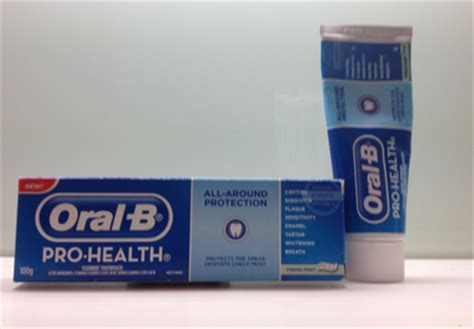 B Pro Health Toothpaste Freshmint 145gr b pro health all around protection fresh mint toothpaste review review clue