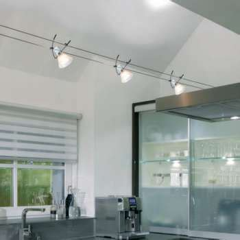 Minimal Interior by Modern Track Lights Monorail Cable Lights Ylighting