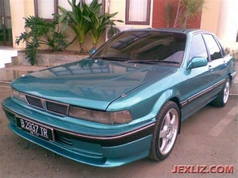 mitsubishi eterna 1992 mitsubishi eterna sohc 1992 hijau tua metalik mobil